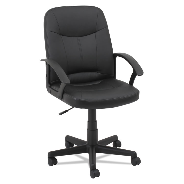 Picture of OIF Executive Office Chair, Fixed Arched Arms, Black (OIFLB4219)