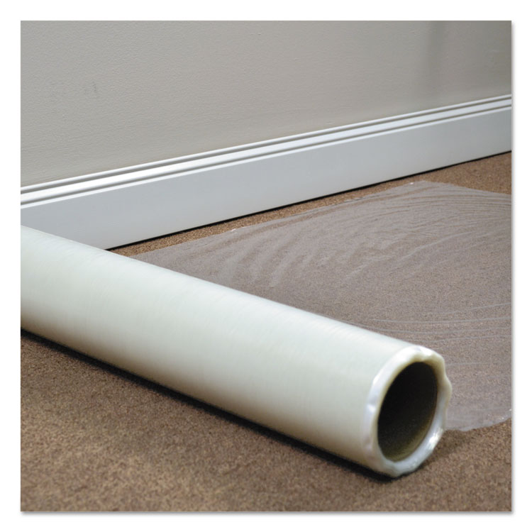 Picture of Roll Guard Temporary Floor Protection Film For Carpet, 24 X 2400, Clear