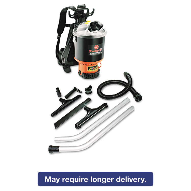 Picture of Backpack Vacuum, 9.2lb, Black