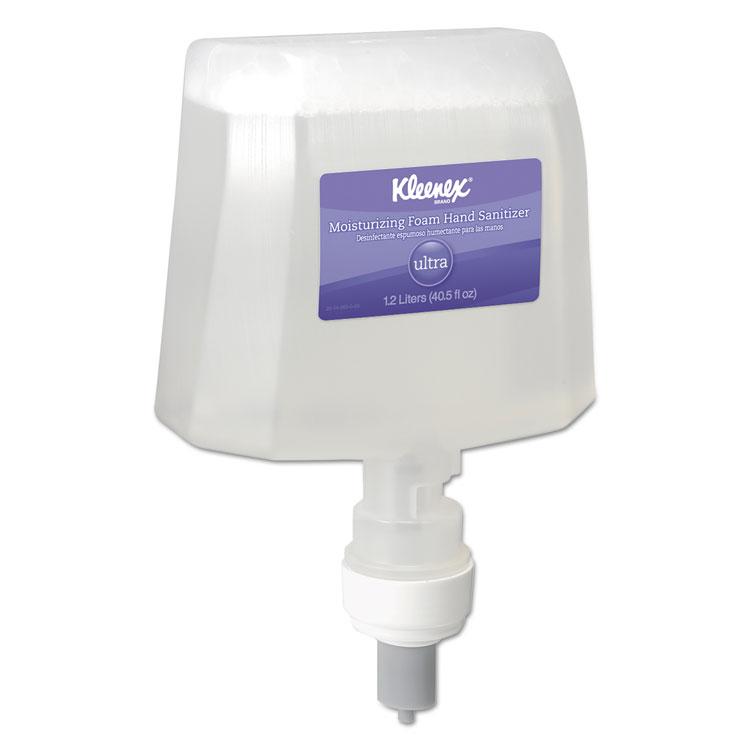 Picture of Ultra Moisturizing Foam Hand Sanitizer, 1,200 ml, Clear, 2/Carton