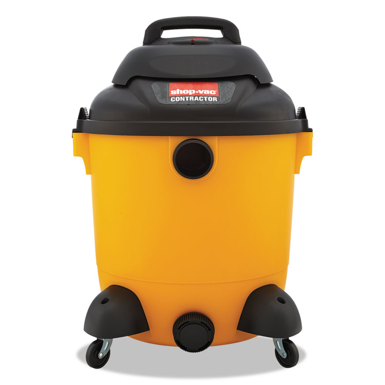 Picture of Economical Wet/Dry Vacuum, 12gal Capacity, 23lb, Black/Yellow