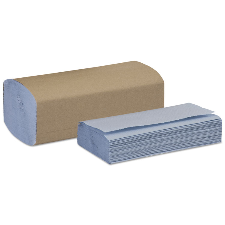 Picture of WINDSHIELD TOWEL, ONE-PLY, 9 1/8 X 10 1/4, BLUE, 250/PACK, 9 PACK/CARTON