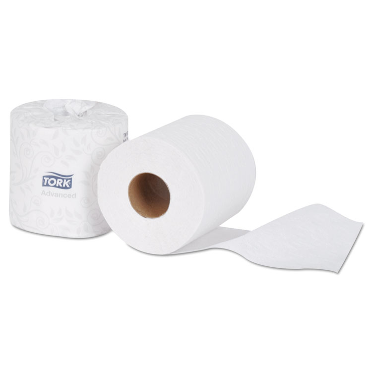 Picture of Advanced 2-Ply Bath Tissue, 2-Ply, White, 500 Sheets, 96 Rolls/carton.