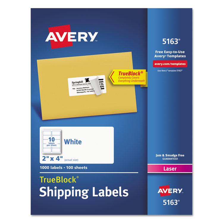 Avery® 5163