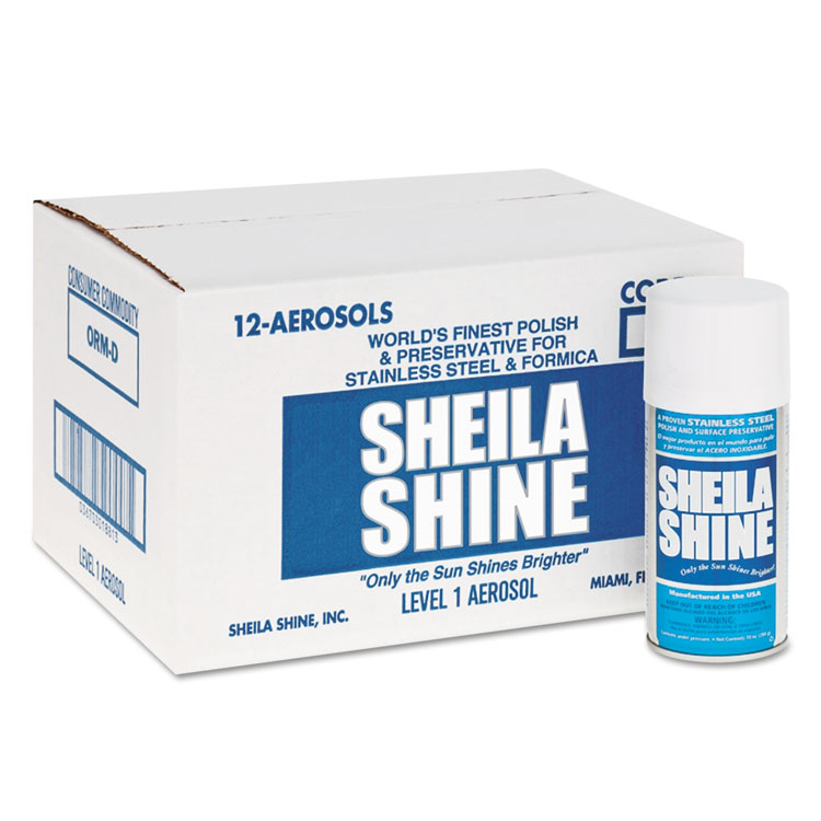 Picture of Stainless Steel Cleaner & Polish, 10oz Aerosol, 12/Carton