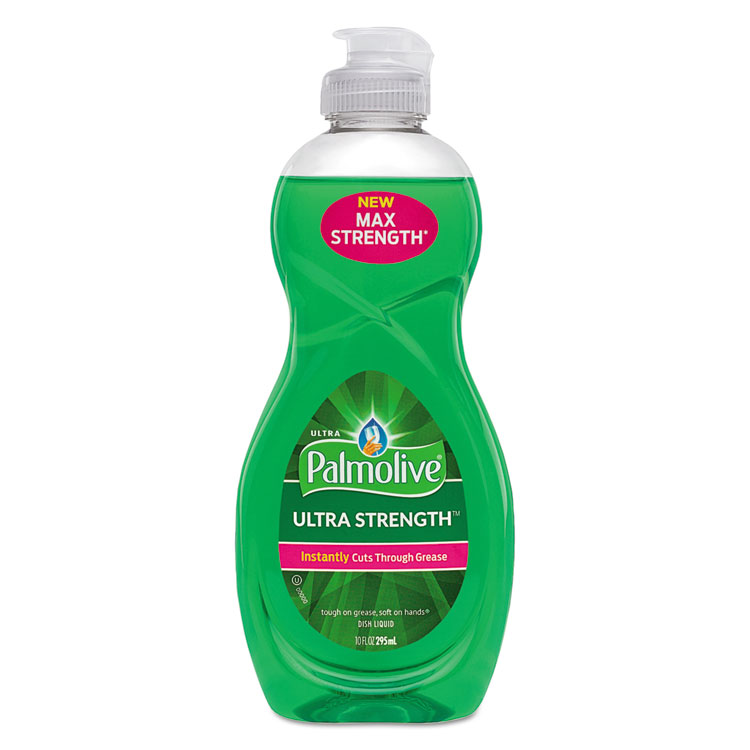 Picture of Dishwashing Liquid, Ultra Strength, Original Scent, 10 Oz Bottle, 16/carton