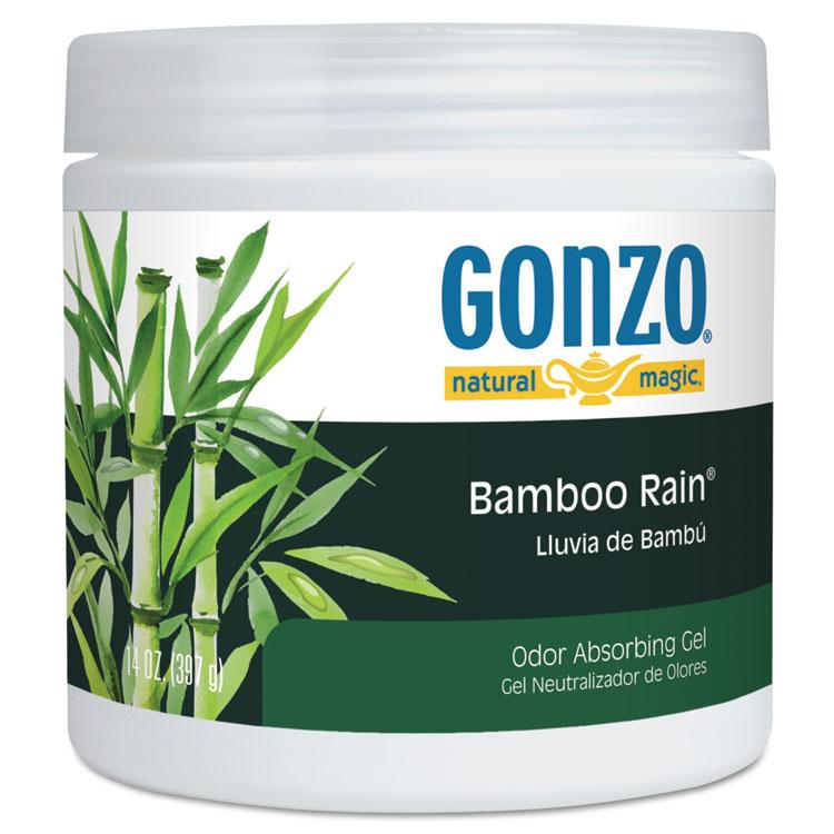 Picture of Odor Absorbing Gel, Bamboo Rain, 14 Oz Jar