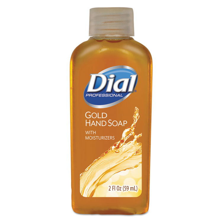 Picture of Gold Antimicrobial Liquid Hand Soap, Floral Fragrance, 2oz Bottle, 48/Carton