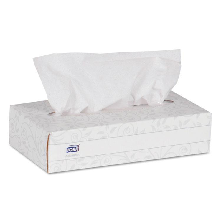 Picture of Advanced Extra Soft, 2-Ply Facial Tissue, White, 100/box, 30 Boxes/carton
