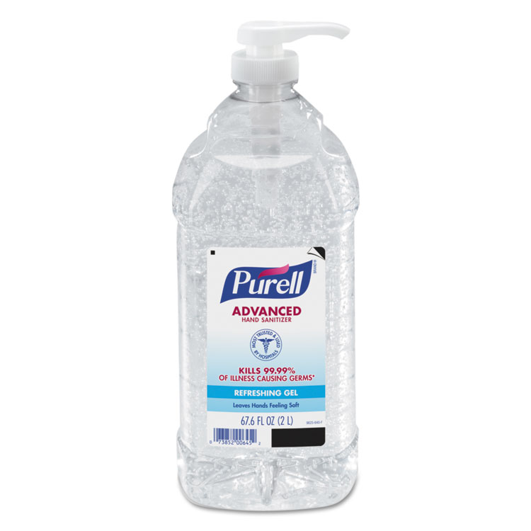 Picture of Advanced Instant Hand Sanitizer, 2L Bottle
