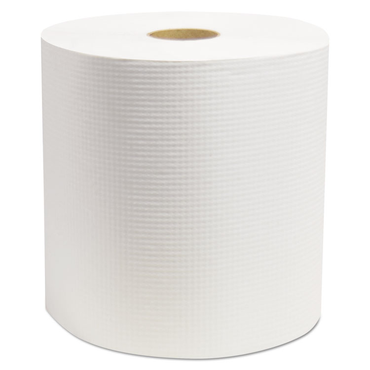 """Picture of Elite Hardwound Roll Towels, White, 7 7/8"""" x 800', 6/Carton"""