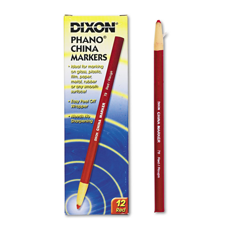 Picture of China Marker, Red, Dozen
