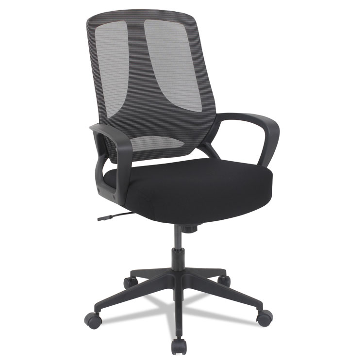 Picture of ALERA MB SERIES MESH MID-BACK OFFICE CHAIR, BLACK