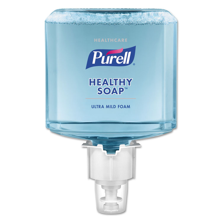 Picture of Soap, Foam, PURELL® Healthcare Healthy,  Gentle and Free , 1200 ML, For ES6 Dispensers, 2/CT