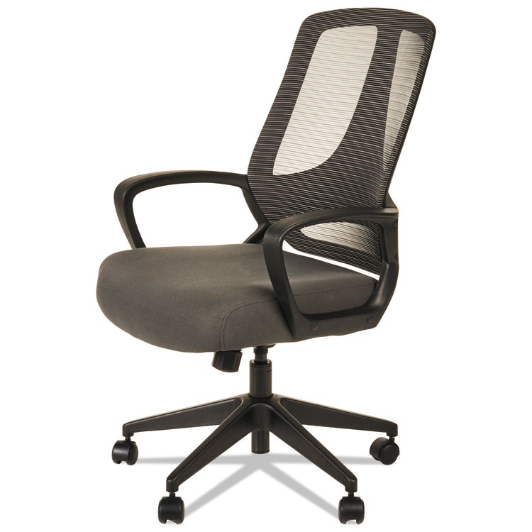 Picture of ALERA MB SERIES MESH MID-BACK OFFICE CHAIR, GRAY/BLACK
