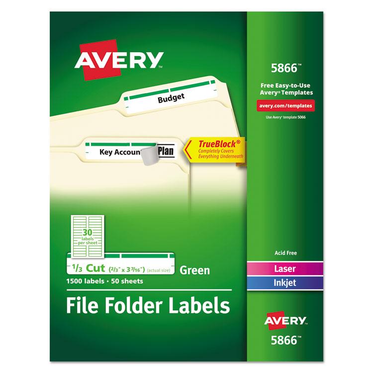 Avery 5866