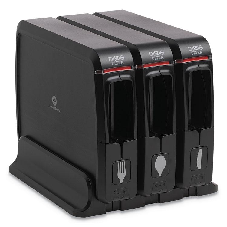 "13.39/"" X 15.75/"" X 23.62/"" Black Team Three Group 56102200 Dispenser"
