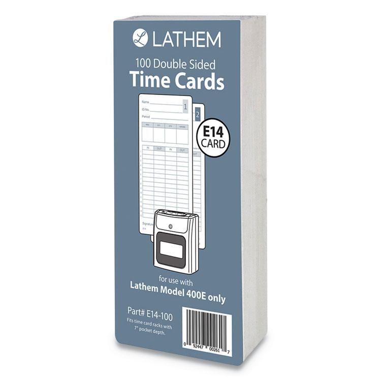 Lathem® Time E14100