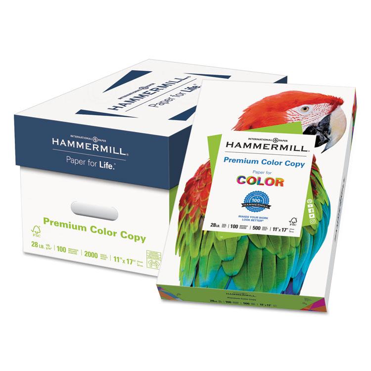 Premium Color Copy Print Paper, 100 Bright, 28lb, 8 5 x 14