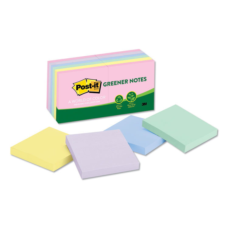 Post-it® Greener Notes 654-RP-A