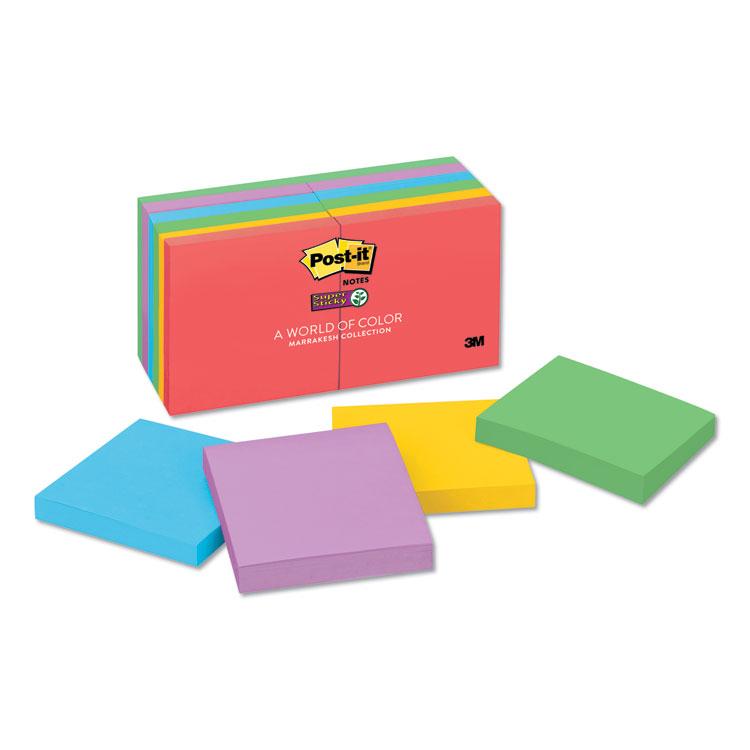 Post-it® Notes Super Sticky 654-12SSAN