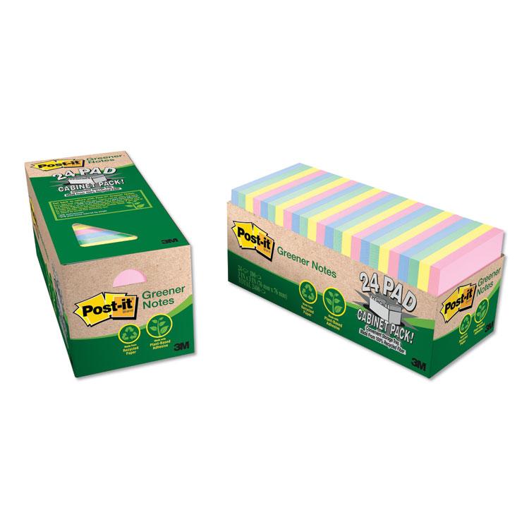 Post-it® Greener Notes 654R-24CP-AP