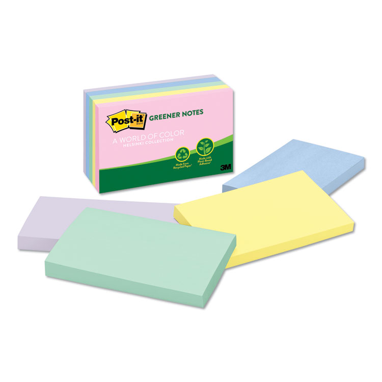 Post-it® Greener Notes 655-RP-A
