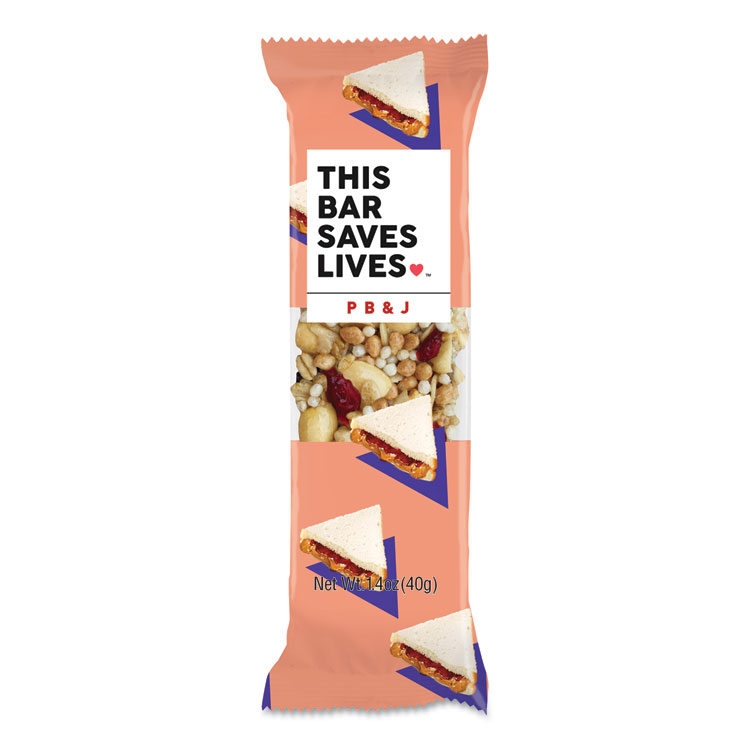 THIS BAR SAVES LIVES™ 00473PK