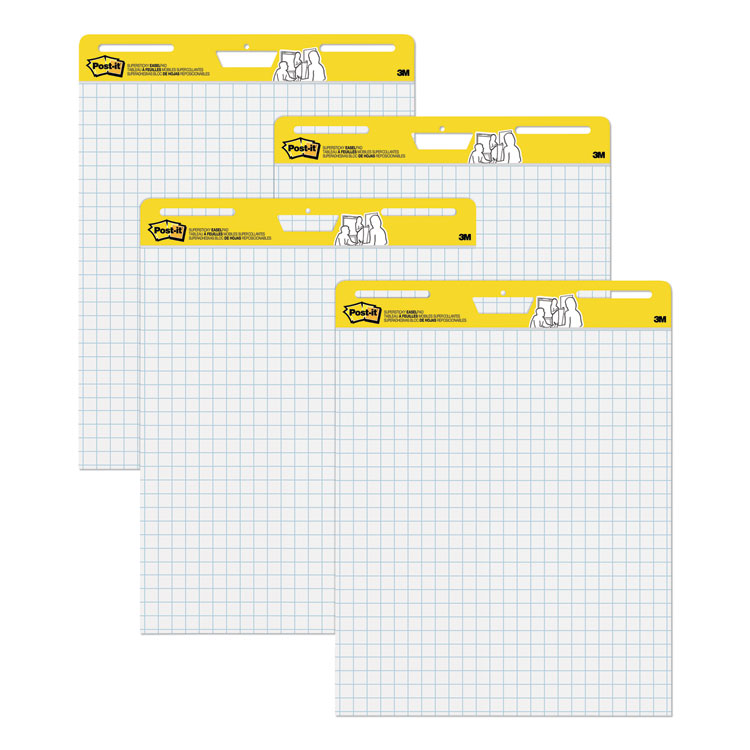 Post-it® Easel Pads Super Sticky 560-VAD-4PK