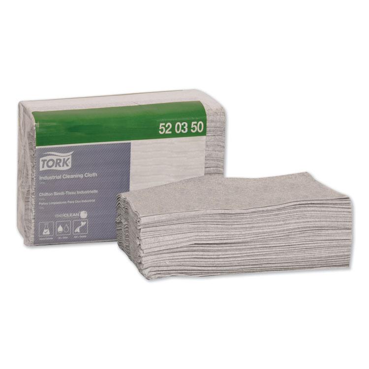 Heavy-Duty Cleaning Cloth, 14 x 16.9, White, 750/Carton