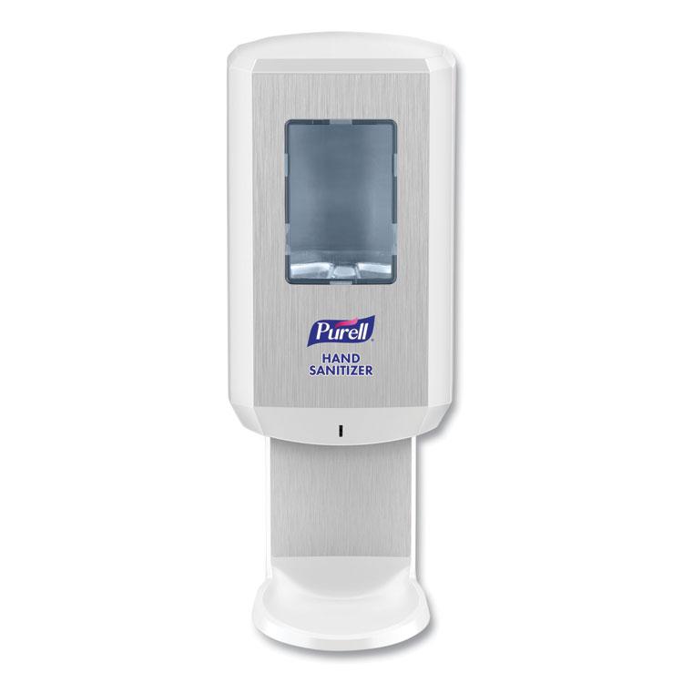 CS6 Hand Sanitizer Dispenser, 1,200 mL, 5.79 x 3.93 x 15.64, White