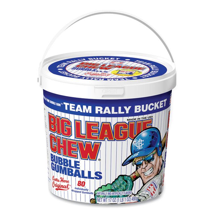 Big League Chew® Bubble Gum Balls, Outta Here Original, 80 Balls/Tub