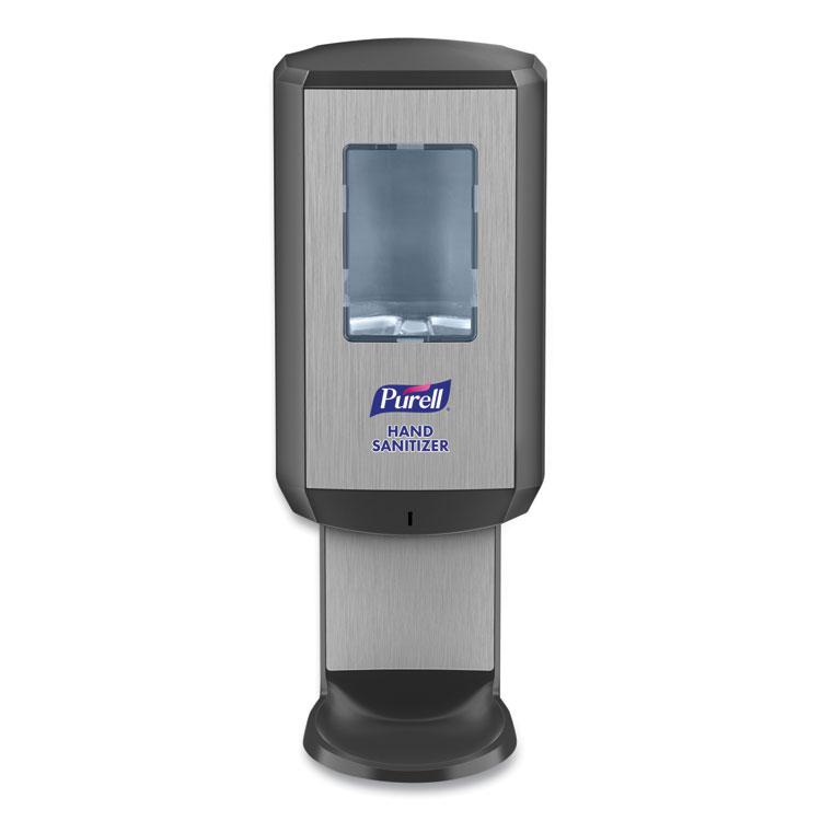 CS6 Hand Sanitizer Dispenser, 1,200 mL, 5.79 x 3.93 x 15.64, Graphite
