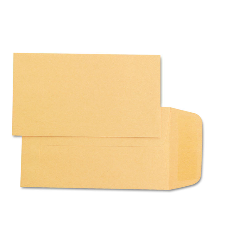 Picture of Kraft Coin & Small Parts Envelope, #1, 2 1/4 x 3 1/2, Brown Kraft, 500/Box