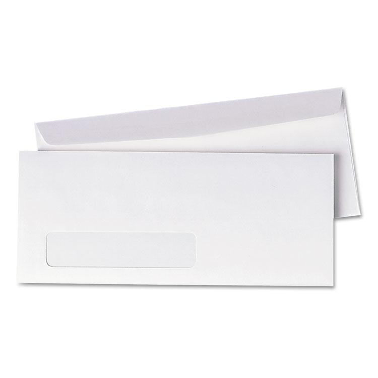 Picture of Window Envelope, #10, 4 1/8 x 9 1/2, White, 500/Box