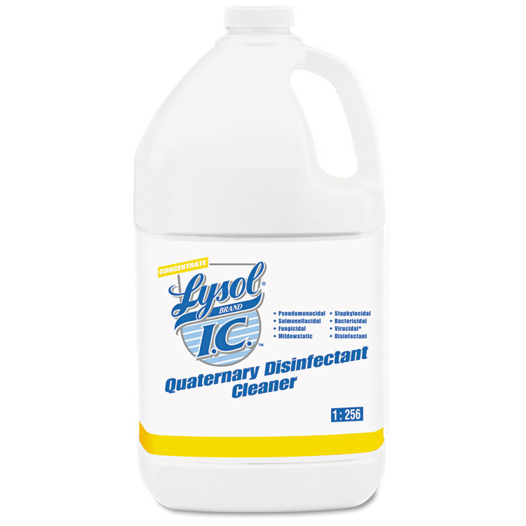 Picture of Quaternary Disinfectant Cleaner, 1gal Bottle, 4/Carton