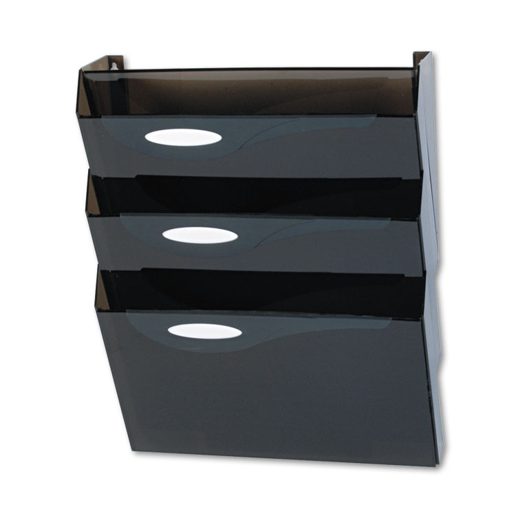 Picture of Classic Hot File Wall File Systems, Letter, Three Pockets, Smoke
