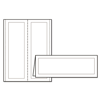 ave 5309 avery large embossed tent card white 3 1 2 x. Black Bedroom Furniture Sets. Home Design Ideas