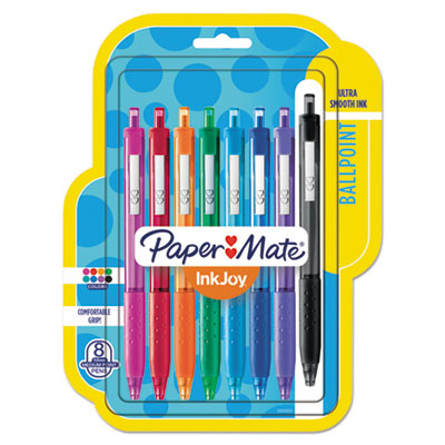 Paper Mate InkJoy 300 RT Retractable Ballpoint Pen 1mm Red Dozen 1951258