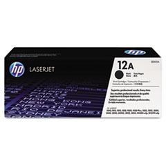 HP 12A, (Q2612A) Black Original LaserJet Toner Cartridge
