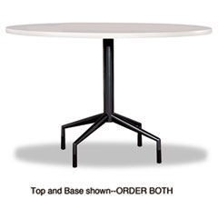 """RSVP Series Standard Fixed Height Table Base, 28"""" dia. x 29h, Black"""