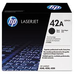 HP 42A, (Q5942A) Black Original LaserJet Toner Cartridge