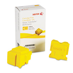 108R00928 Solid Ink Stick, 4,400 Page-Yield, Yellow, 2/Box