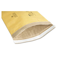 8105002900343 Sealed Air Jiffy Padded Mailer, #2, Macerated Paper Lining, Self-Adhesive, 8.5 x 12, Golden Kraft, 100/Box