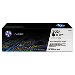 HP 305A, (CE410A) Black Original LaserJet Toner Cartridge