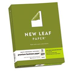 New Leaf Premium Business Paper, 24 lbs., 8-1/2 x 11, White, 500 Sheets/Box
