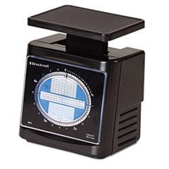 Mechanical Postal Scale, 5 lbs Capacity, 6 4/5 x 5 4/5 Platform