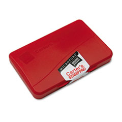 Micropore Stamp Pad, 4 1/4 x 2 3/4, Red