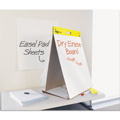 Self-Stick Tabletop Easel Pad with Dry Erase Surface, 20 x 23, White, 20 Sheets