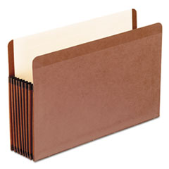 "Premium Reinforced Expanding File Pockets, Straight Cut, 7"" Expansion, Legal"